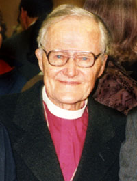 Lesslie Newbigin in 1996. Image courtesy of Wikipedia.