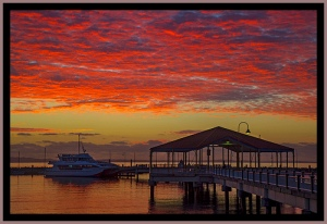 Dawn over Redcliffe Jetty